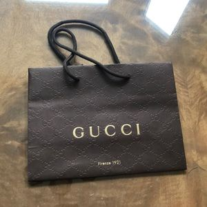 Gucci Bags - Gucci Small Shopping Bag and Dust Covers